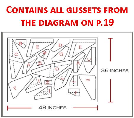 Gusset Pack 01 (Frame Gussets)